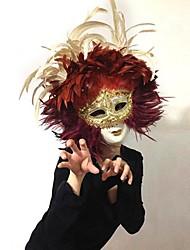Carnaval de Venise moitié du visage masque de mardi gras