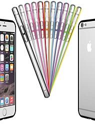 PC & TPU Bumper Frame Case for iPhone 6s 6 Plus