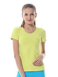 Ioga tops / Camiseta Calças + Tops Elástico em 4 modos / Suavidade Stretchy Wear Sports Mulheres - Yokaland Ioga / Pilates / Fitness
