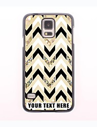 Personalized Phone Case - Ripple Design Metal Case for Samsung Galaxy S5