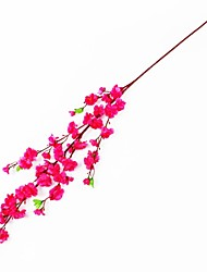 Silk / Plastic Plum Artificial Flowers