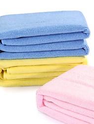 carsetcity micro asciugamano tessuto triplo m dimensione 3 pc / pacchetto (colori multipli)