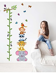 Wall Stickers Wall Decals, Style Cartoon Cane Measure Your Hight PVC Wall Stickers