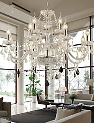Maximum 60 W Chandelier ,  Modern/Contemporary Others Feature for Crystal GlassLiving Room / Bedroom / Dining Room / Bathroom / Study