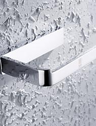 HPB®,WC-Rollenhalter Chrom Wandmontage 15*9*3cm(6*3.5*1.2 inch) Messing Modern