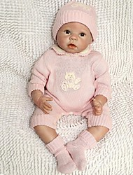 NPK 55CM 22 Inches Reborn Baby Doll Toys Imported Silicone Vinyl handmade lifelike with ClothesTop Quality Best Gift