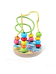 Children Intelligent Round Beads Games with Different Colour(Random style)