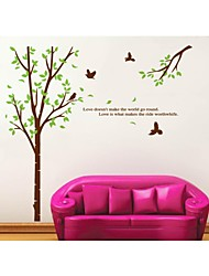 Wall Stickers Wall Decals, Style Meaning Of Love PVC Wall Stickers