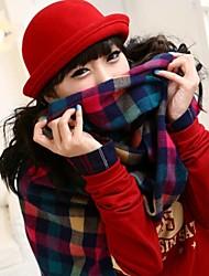 женская мода винтовой крышкой шерстяной котелок (больше цветов)