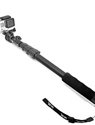 Fat Cat Retractable 3-in-1 Retractable Monopod + Holder + Mount Adapter for GoPro / IPHONE + More