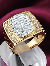 Nina Women's Gold Plated Fashion Diamond Ring