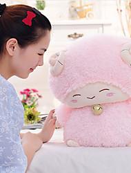 Valentijnsdag kleine witte schapen lam pop pluche poppen (28cm)