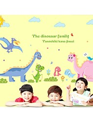 Wall Stickers Wall Decals, Style Dinosauria Family PVC Wall Stickers