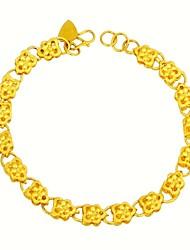 Obsses Gold Plate Bracelet