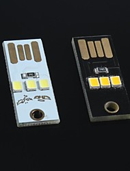 Ultra-Small Ultra-Thin Mini USB Lamp Keyboard Lamp Move Power For Arduino(2Pcs)