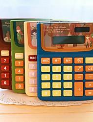 мультфильм девочка калькулятор (случайный цвет)