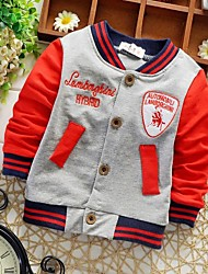 Boy's Cotton Long-Sleeved Cardigans