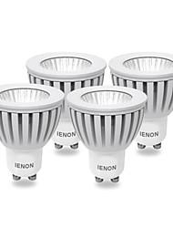 ienon® 4pcs GU10 3w 240-270lm fraîche lumière blanche / chaude conduit blub spot (100-240V)