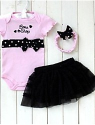 Children Clothing Set Baby  Romper Headband Skirt Girl Peppa Pig Sports Suits Kids Jumpsuit Newborn Outfits Bodysuit