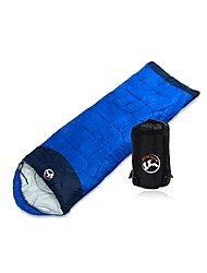 Sleeping Bag Rectangular Bag Single 0°C~10°C Hollow Cotton 215cmX78cm Camping / Fishing / Traveling / HuntingMoistureproof /