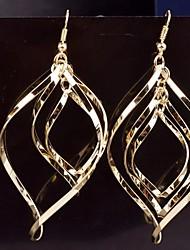 The New India Baroque Retro Twist Irregularity Earrings