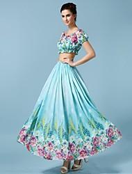 Sagetech®Women's Two-piece Bohemian Beach Suit (Shirt & Skirt)