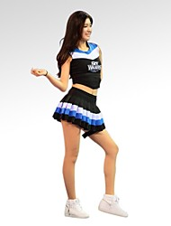 Cheerleader Costumes Women's Fashion Short Sleeve Dance Performance Outfit