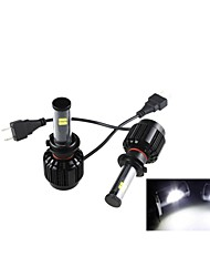 CONQUER®2PCS H7   40W High Brightness High Power CREE LED Headlight Headlamp for Car