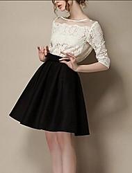 stilvolle hohe Taille Röcke x-in®women