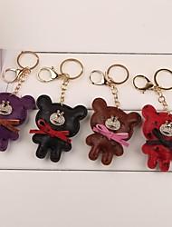 smilling keychain faccia orso (più colore)