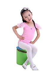 Ballet Kid's Fashion Short Sleeve Dance Dress Kids Dance Costumes