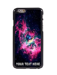 caso de telefone personalizado - sky caso design de metal vermelho para iphone 6