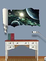 3d наклейки наклейки на стены, вселенная планеты декор виниловые наклейки для стен