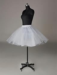 MARIAGE PETTICOAT ( Voir l'image , Blanc/Noir ) Robe trapèze - 37cm