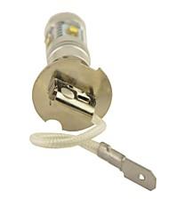 Carking™ H3 25W 5SMD LED Car DRL Headlight Fog Light Daytime Lamp-White(12V 1PC)