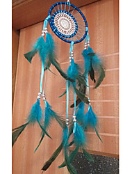 Blue Double Loops Dream Catcher