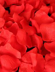 coloré fleur de soie pétale, 100pcs / sac