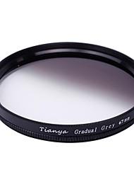 tianya® 67 milímetros circular filtro graduado cinzento para Nikon D7100 D7000 18-105 18-140 canon 700d 600d 18-135