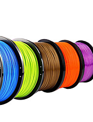 Lanu Transparent 3D Printer Filament 3D Printing Consumables Material(PLA,1.75mm 3.0mm,1KG)