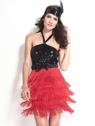 Carnaval - para Mujer - Disfraces Burlesques/Más Vestidos - Disfraces - Vestido/Cinturón/Cinta -