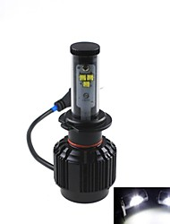 CONQUER® 2PCS  30W 3600Lumens H7 High Power High Brightness Cree LED Headlight for Car