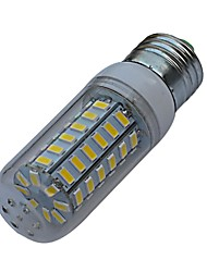JIAWEN® E27 9W 56X5730SMD 720-810lm 3000-3200K/6000-6500K LED Warm White/White Light Corn Lamp Bulb (AC 220V)