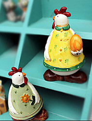Japanese Country Style Resin Easter Chick,2Pcs/set