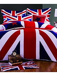 Union Jack Duvet Cover Set Bedding Set Queen King Size
