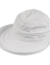 Unisex's Anti-UV Wide Brim Sweet Bowknot Summer Beach Foldable Cap
