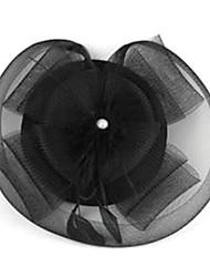 cocar com tela de penas para prom vestido preto (1 peça)