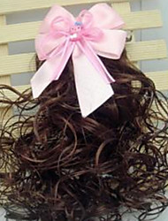 Girl's Lace Bowknot Wig Hair Clip