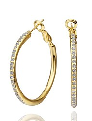 SSMN Women's Gold Plate Earrings