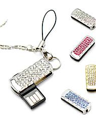 amotaios amo-uz069 (64G) 64GB USB 2.0 Flash Keychain pen drive / cristallo