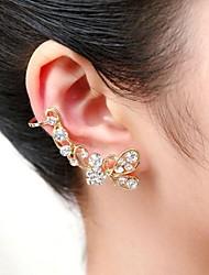 moda pieno di cristallo bowknot polsini dell'orecchio (1 pc)